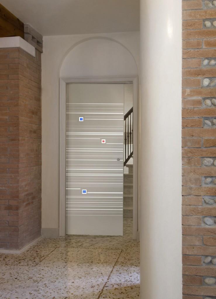 emejing porte in vetro moderne contemporary. Black Bedroom Furniture Sets. Home Design Ideas