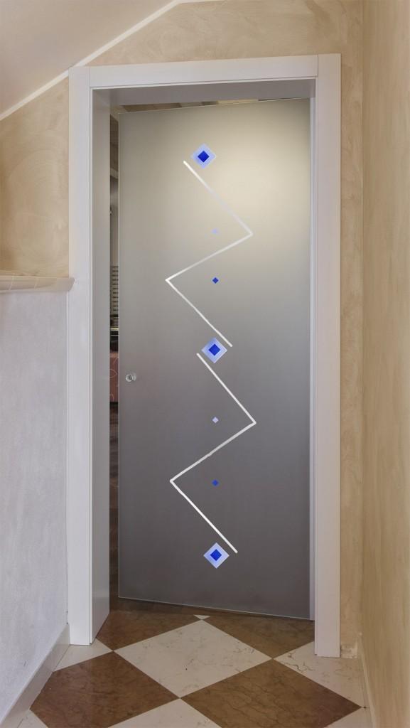 Porte scorrevoli su vetrate vetri artistici - Vetri decorati per porte scorrevoli ...